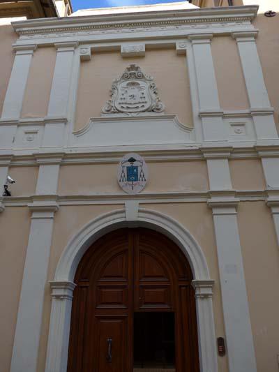 Entrata Palazzo Vescovile